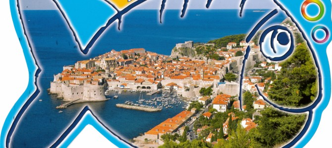Dubrovnik, Croatia – Self Sent Postcard