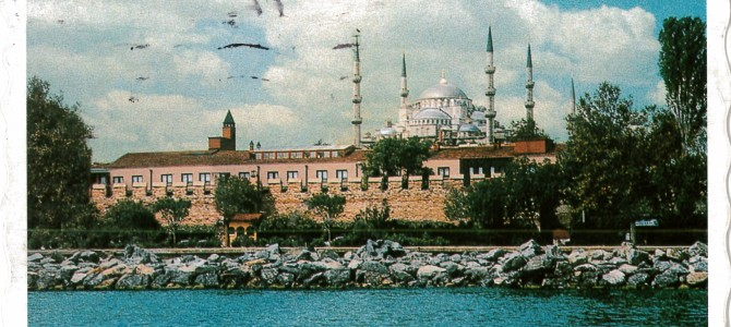 Istanbul, Turkey – Self Sent Postcard